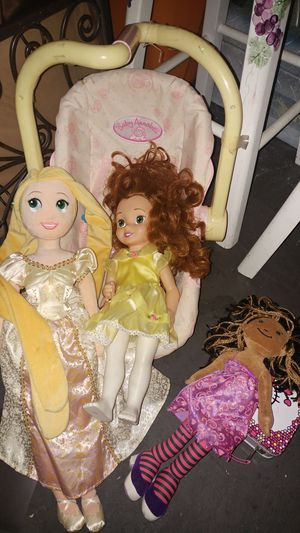 Dolls and Doll house! for Sale in Rancho Cucamonga, CA