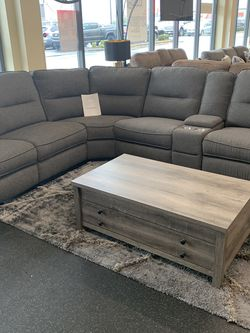 6 Piece Sectional With 3 Recliners On Sale for Sale in Federal Way,  WA