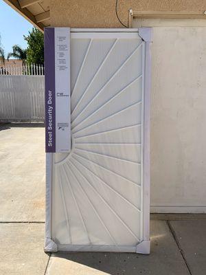 Security Screen Door for Sale in Rialto, CA