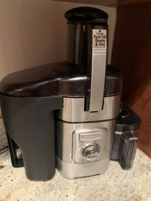 Cuisinart Juice Extractor CJE 1000M for Sale in Oakland Park, FL