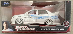 In Hand, Brand New, Never Opened Jada The Fast & the Furious: Jesse's Volkswagen Jetta 1/24 Scale for Sale in Rancho Cucamonga, CA
