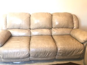 Ashley reclining couch and loveseat for Sale in San Ramon, CA