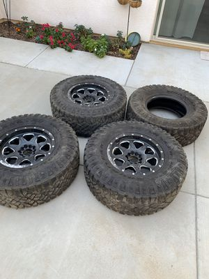 Jeep Tires and Fuel Wheels for Sale in Fresno, CA