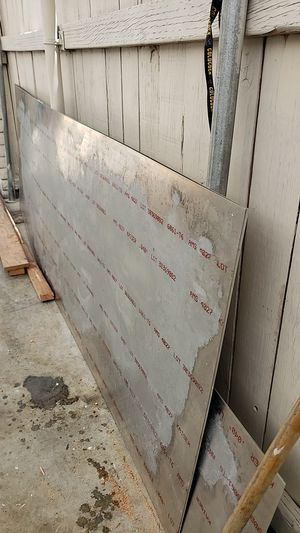 2 stainless steel sheets for Sale in Fountain Valley, CA