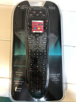 Logitech Harmony 700 Universal Remote for Sale in San Diego, CA