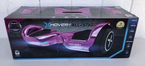 •••NEW: Hover-1 Allstar UL Certified Electric Hoverboard w/ 6.5in LED Wheels, LED Sensor Lights, 7 MPH Max Speed, 6 miles Max Distance, 220lbs Max We for Sale in Mesa, AZ