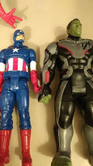 The Hulk, Captain America & Spuderman for Sale in Carmichael, CA