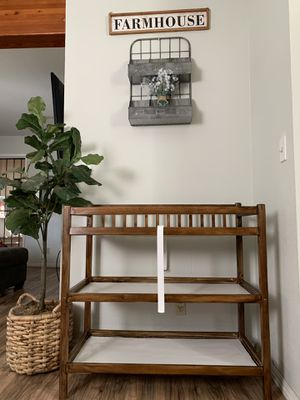Rustic Baby Changing Table for Sale in Alameda, CA