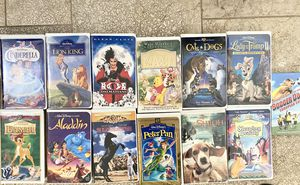 VHS Disney movies for Sale in San Fernando, CA