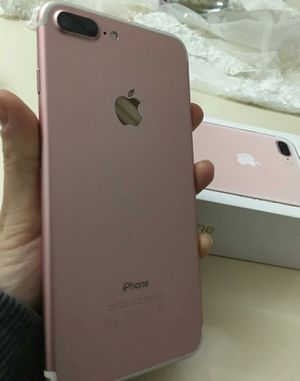 IPhone 7 Plus ,,256 GB , UNLOCKED .  Excellent Condition  ( as like New) for Sale in Fort Belvoir, VA