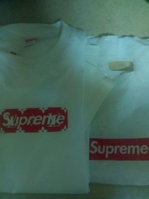 Supreme Louis Vuitton shirt