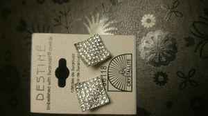 Sterling silver Beautiful Diamond CZ Earrings for Sale in Kent, WA