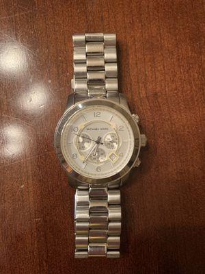 Silver Michael Kors Watch for Sale in Arlington, VA