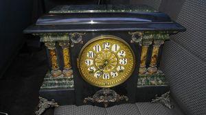 antique seth thomas adamantine mantel clock for Sale in Glendale, AZ