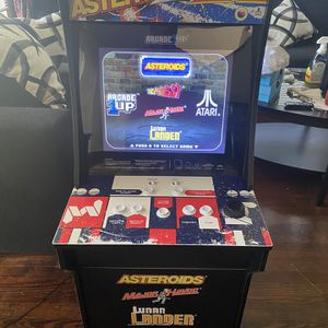 Arcade 1up Asteroids Cabinet for Sale in Houston, TX