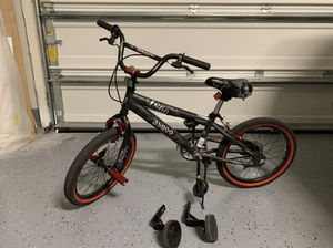 """Kent 18"""" Abyss FS18 BMX Boy's Bike Charcoal Gray Smooth Transition Steel Frame for Sale in Tampa, FL"""