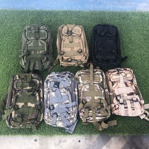 New 30L Hiking Backpack Rucksacks Tactical Bags Camouflage Colors for Sale in Norco, CA