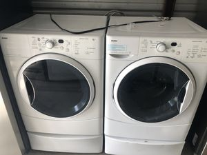 Kenmore washer and gas dryer set for Sale in Santa Ana, CA