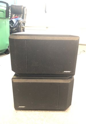 Pair Bose 301 Series IV Speakers - Black for Sale in Vancouver, WA