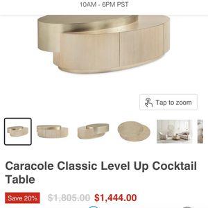 Beautiful Modern Caraole Coffee Table for Sale in El Cajon, CA