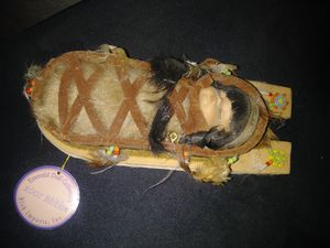 Sleeping baby indian doll for Sale in Bakersfield, CA