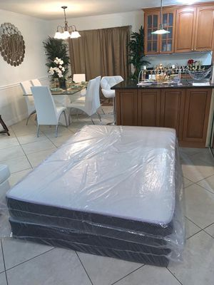 full mattresses and box springs FREE DELIVERY 🚚 140$ for Sale in Hollywood, FL