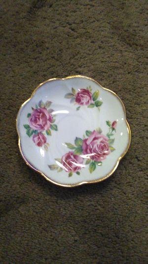 "Antique Bone China Tea Saucer Salisbury made in England ""Juliana Rose"" for Sale in Lakeside, CA"