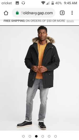 Old Navy men's xs parka for Sale in Washington, DC