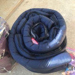 Coleman Sleeping Bags Good Condition His And Hers for Sale in Tracy,  CA