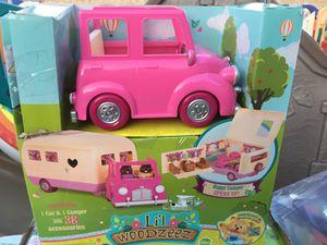 Lil woodzeez camper and car for Sale in Fontana, CA