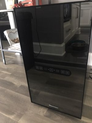 Wine Enthusiast 18 Bottle Dual Zone Touch Screen Cooler Fridge for Sale in Houston, TX