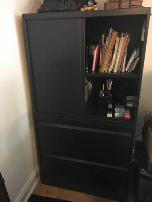File cabinets for trade. 56x30x18 What do you have? for Sale in Temple Hills, MD