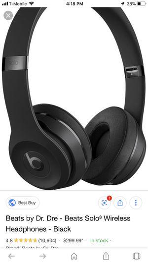 Beats by Dre solo 3 wireless for Sale in Littleton, CO