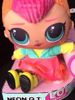 LOL Surprise Neon Huggable Plush Doll for Sale in Tacoma,  WA