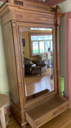 Fantastic cherrywood antique armoire in perfect shape! for Sale in Portland,  OR
