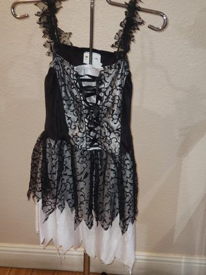 California Costume Tween large girl costume dress gothic for Sale in Downey, CA