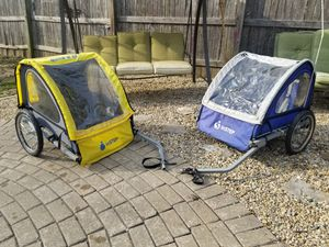 Bike trailers. FIRST COME! $45 EACH for Sale in Tremont, IL