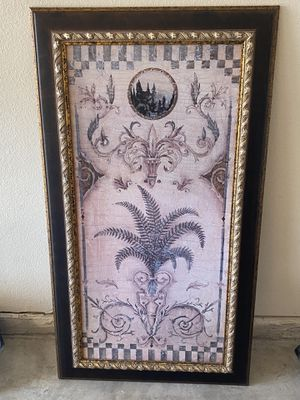 Antique Picture And Frame for Sale in Frisco, TX