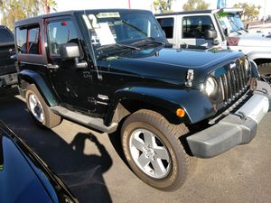 2012 jeep wrangler sahara 4x4 And more vehicles to choose WE APPROVE EVERYONE NO CREDIT CHECK TODOS AQUI CALIFICAN 100% APROVADOS for Sale in Phoenix, AZ