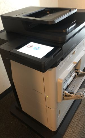 COLOR LASER JET ENTERPRISE MFP M680 PRINTER for Sale in Chelsea, MA