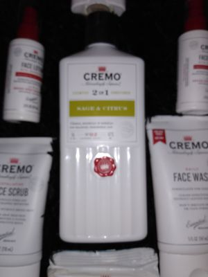 Cremo- Men's quality skin care Gift Set for Sale in Corona, CA