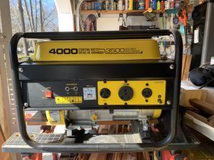 Generator, Champion 4000 Watts, Great Condition for Sale in Tinton Falls, NJ