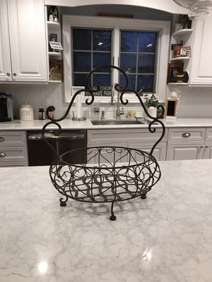 Metal basket for Sale in Syosset, NY