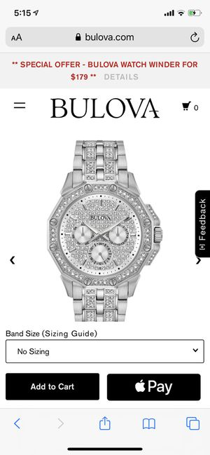 Bulova Men's octava collection for Sale in Potomac, MD