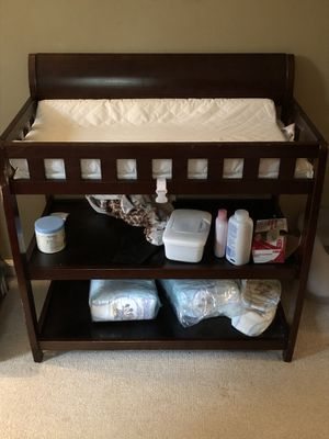 Baby changing table for Sale in Glastonbury, CT