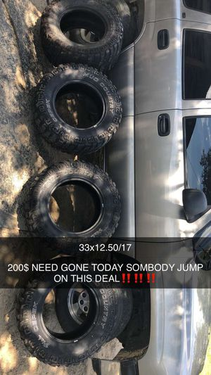Mud tires for Sale in Coats, NC