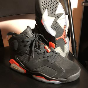 Nike Air Jordan Infrared Retro 6 2014 Size 9.5 for Sale in Burkeville, VA