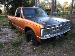 1991 Chevy S10 v8 sbc project 0 miles th350 for Sale in Palm Beach Gardens, FL