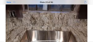 Granite countertops 3cm $49 square feet installation and fabrication includes for Sale in Houston, TX