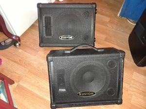 """Kustom.10"""" speakers new conditions both for $175 for Sale in Lake Worth, FL"""